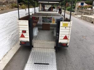 Kreikassa oli esteetön liikkuminen mahdollista tarvittaessa.